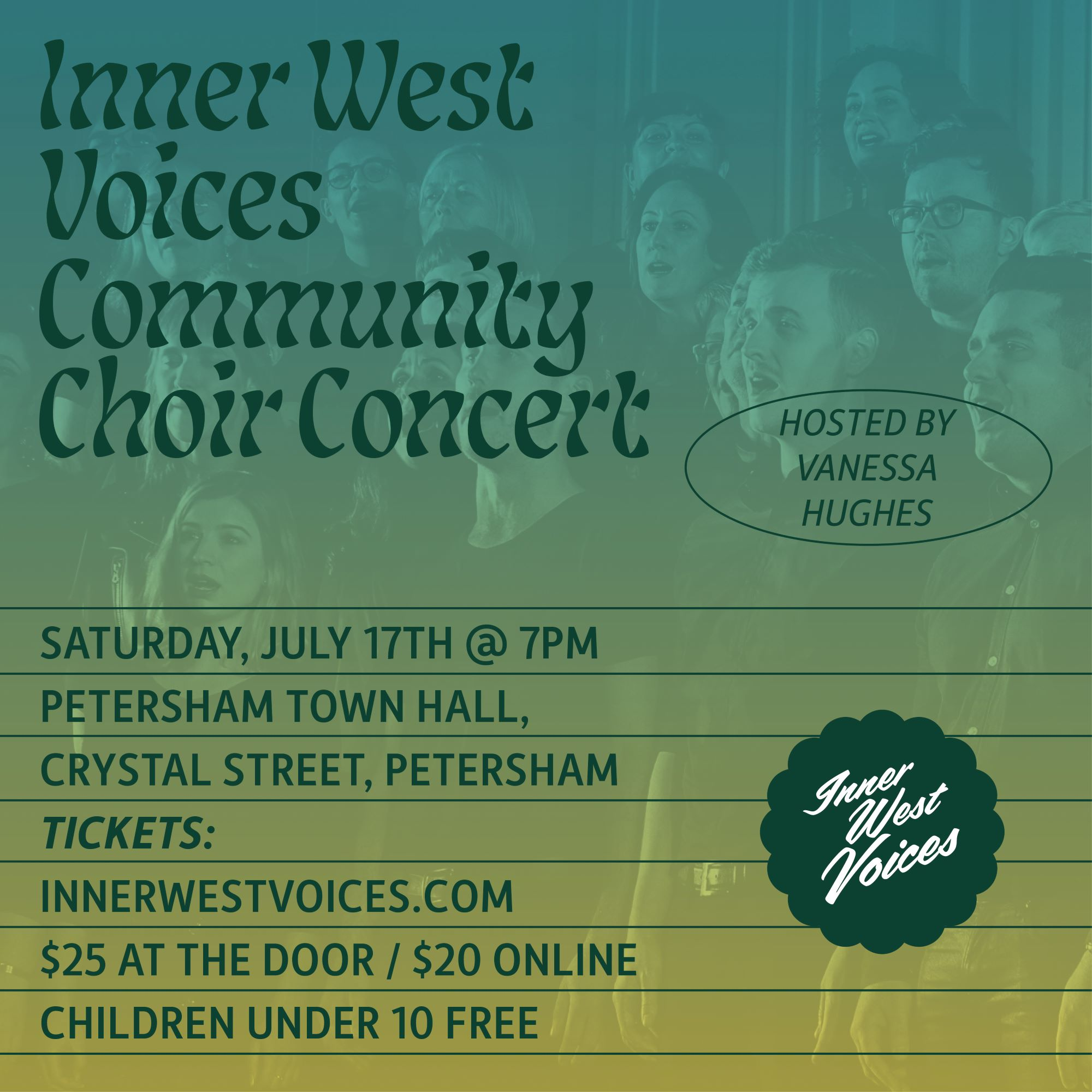 Inner West Voices - Winter Concert Graphic